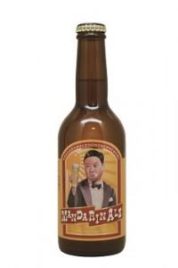 Musashino Beer MANDARIN BEERボトル写真350